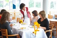 Speisesaal der Klinik Lindenplatz