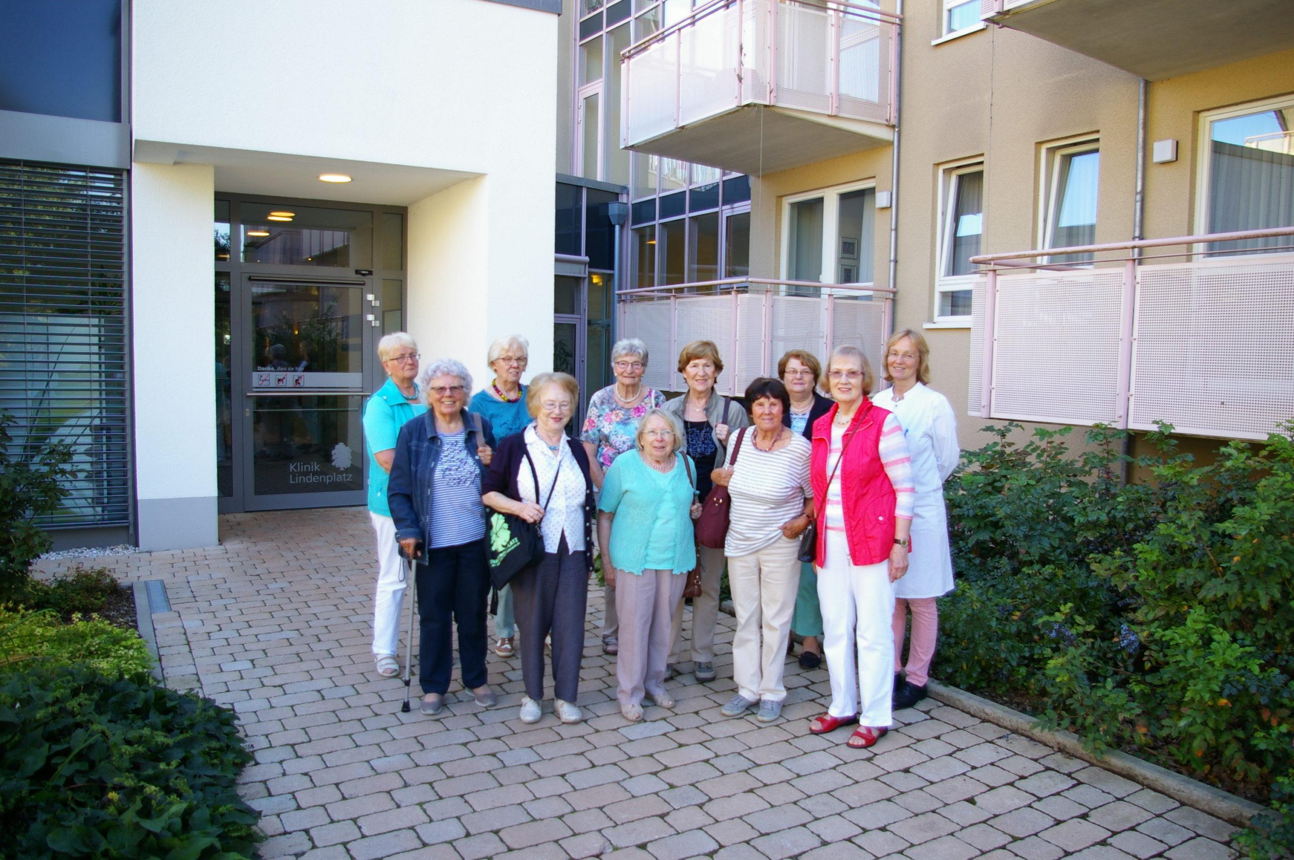 Selbsthilfegruppe Osteoporose zu Besuch in der Klinik Lindenplatz