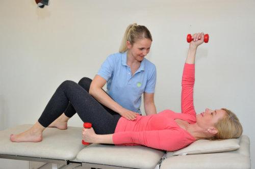 Physiotherapie im Rahmen der BGSW