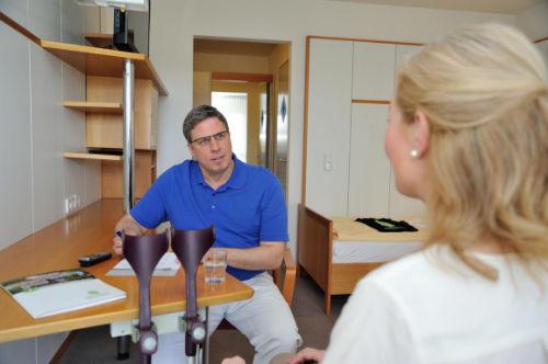 Anschlussbehandlung im Rahmen der Rehabilitation nach Amputation