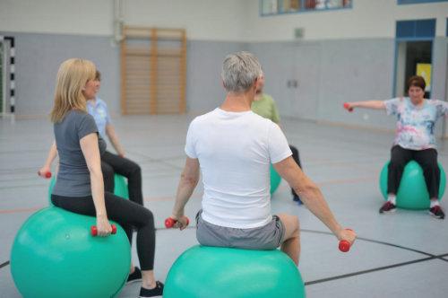 Physiotherapie im Rahmen der Rehabilitation für den  Rücken