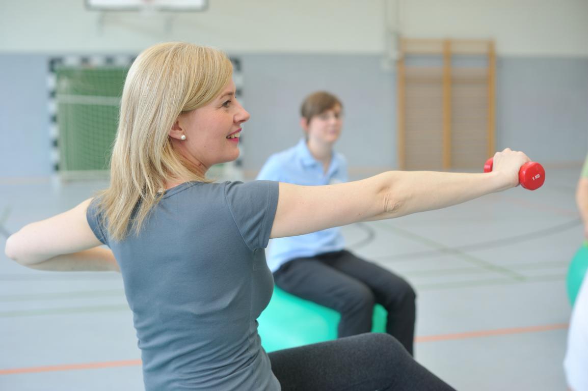 Sporttherapie im Rahmen der Anschlussheilbehandlung
