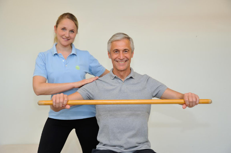 Betreute Sporttherapie im Rahmen der orthopädischen Rehabilitation